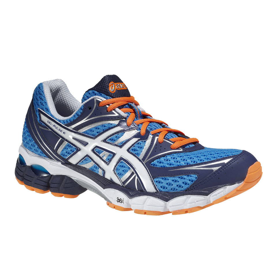Asics Men s Gel-Pulse 6 Trainers - Blue White Flash Orange Sports   Leisure   307c76f2c9