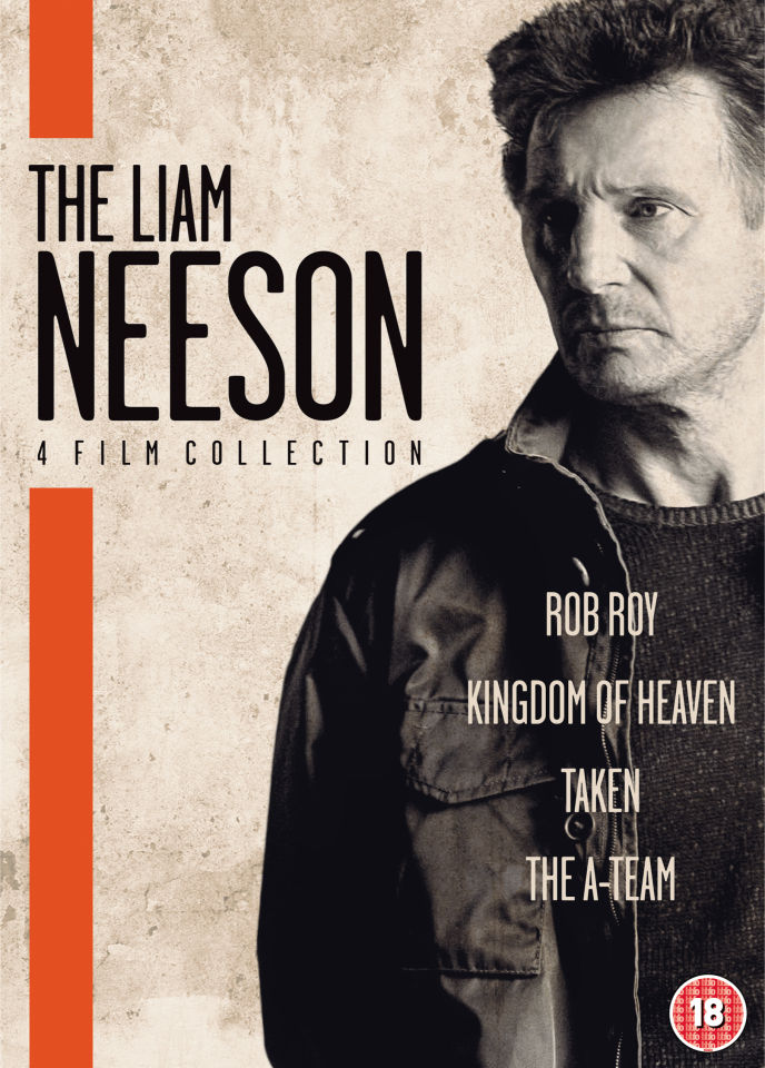 The Liam Neeson Film Collection Dvd Zavvi