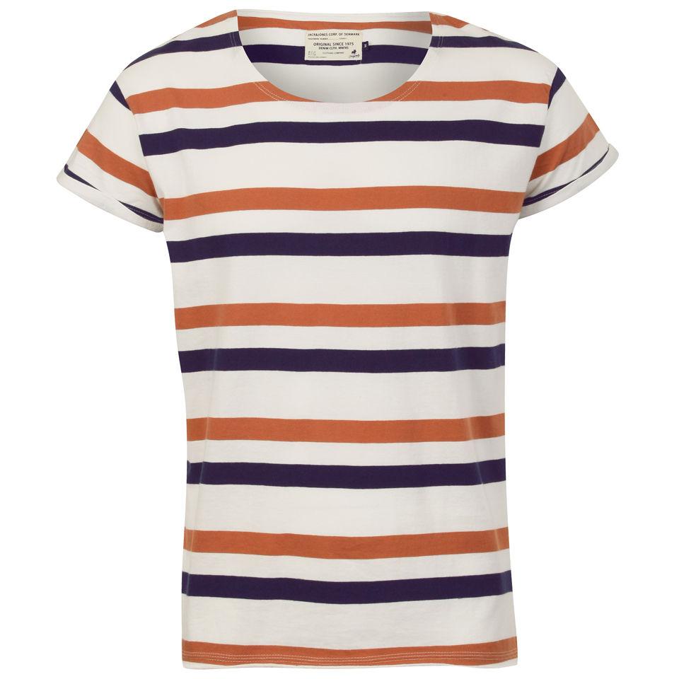 Striped shirt male dancer