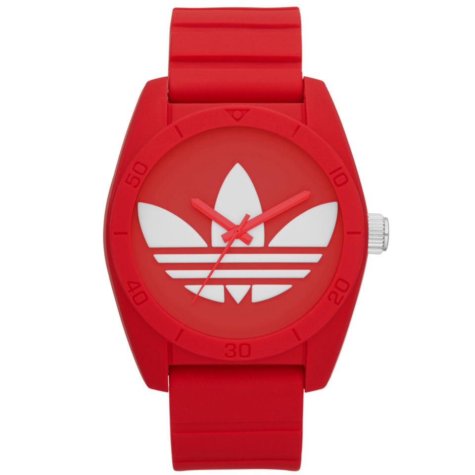 4ab38c923302 adidas Original Santiago Silicone Watch - Red