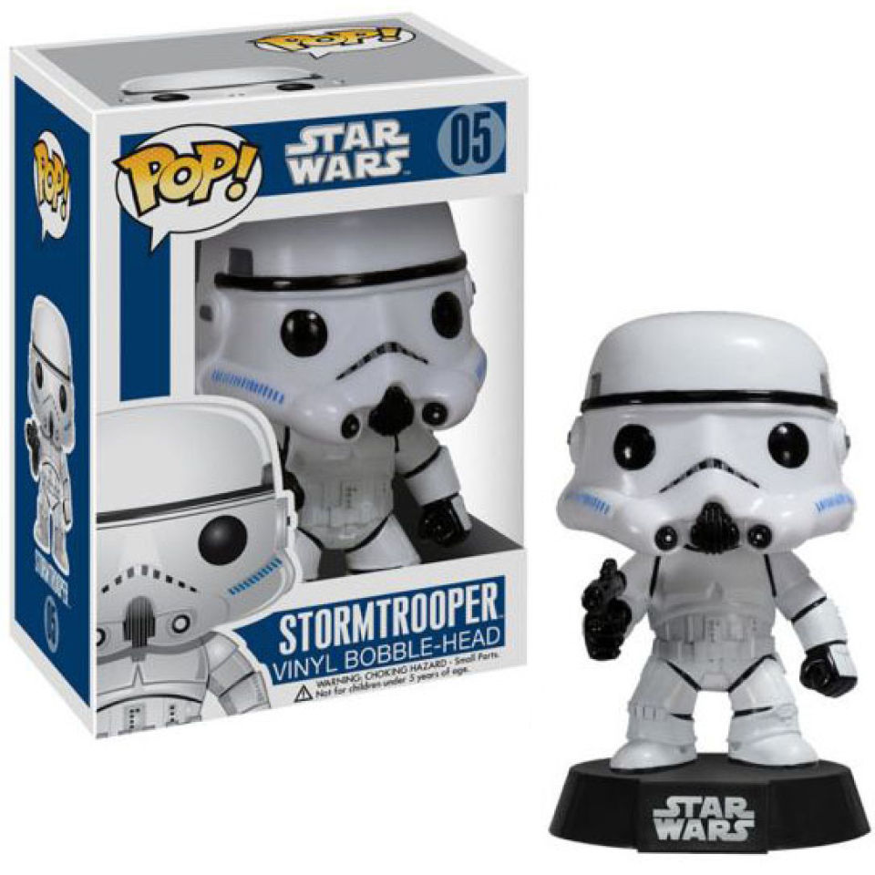 Star Wars Stormtrooper Pop! Vinyl Figure Bobblehead