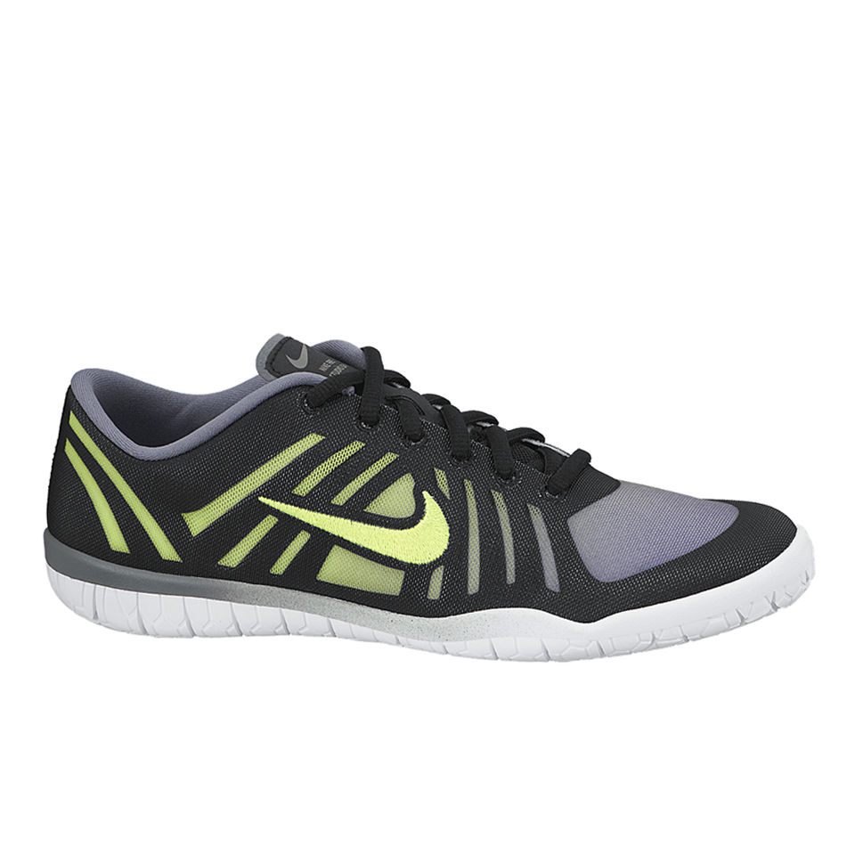 accdf4f4796f Nike Women s Free 3.0 Studio Dance Training Shoes - Cool Grey Volt Green  Black. Description