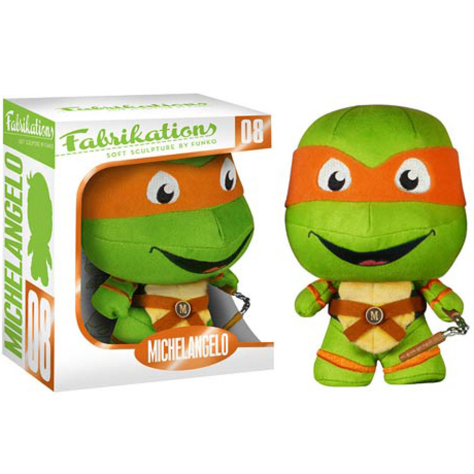 Peluche Michelangelo Fabrikations Tortues Ninja