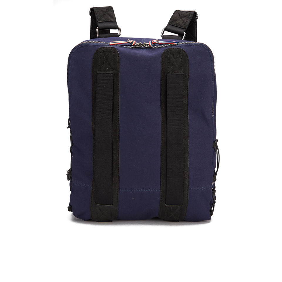 Jerome Dreyfuss Roland Canvas Backpack - Marine