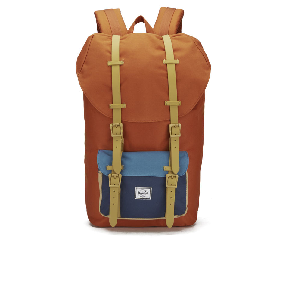 ab902c7c9ce ... Herschel Supply Co. Classic Little America Backpack - Carrot Navy Cadet  Blue