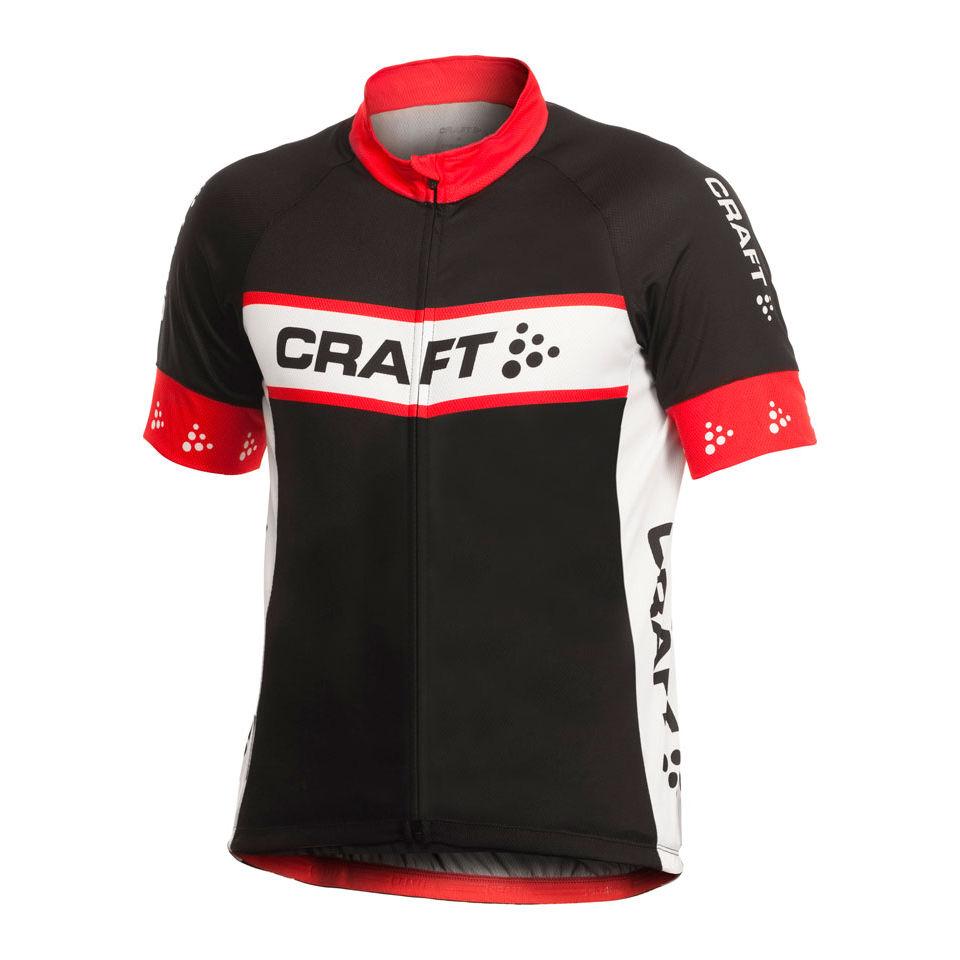 Craft active bike logo ss fz cycling jersey probikekit uk for Craft mountain bike clothing