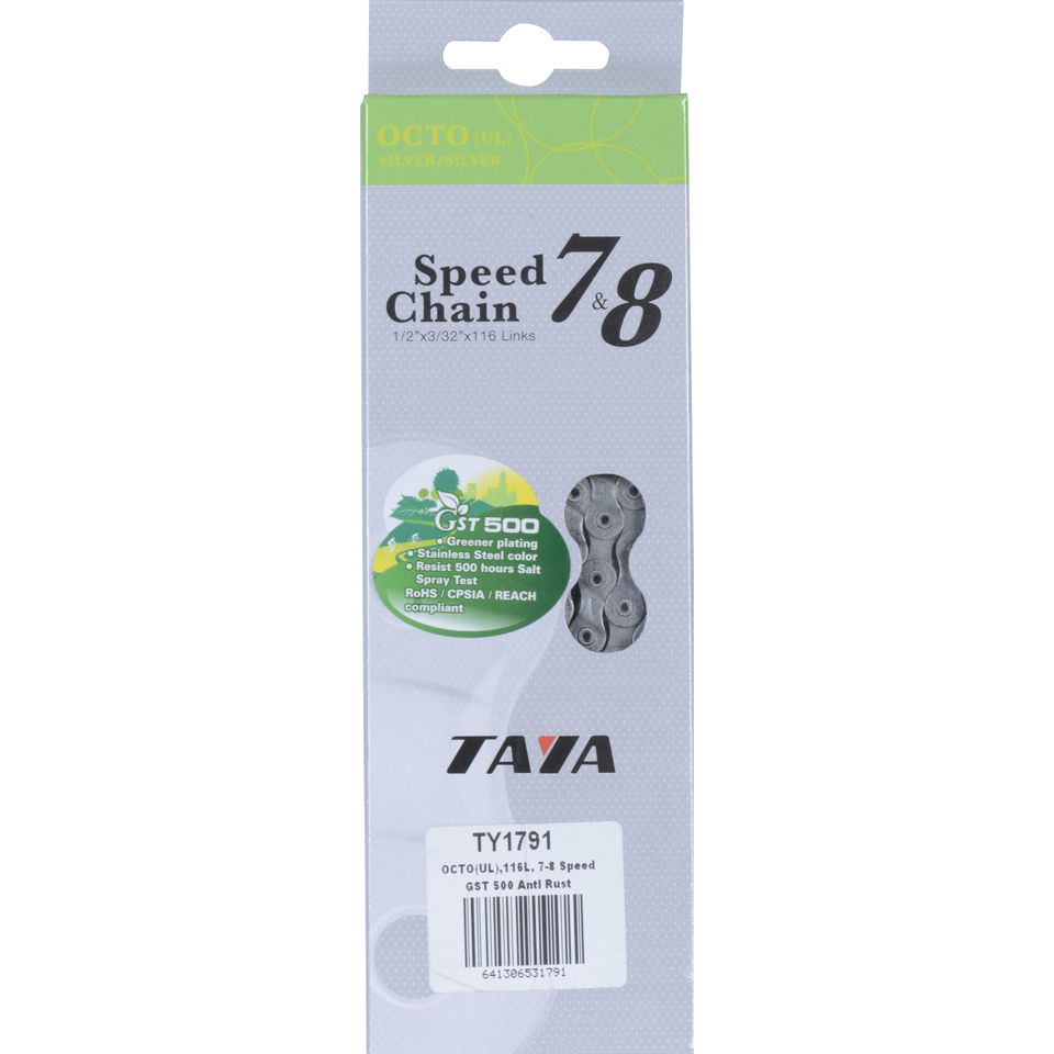 Taya OctoUL 116L 7/8 Speed Bicycle Chain - GST-500 - AntiRust | Chains