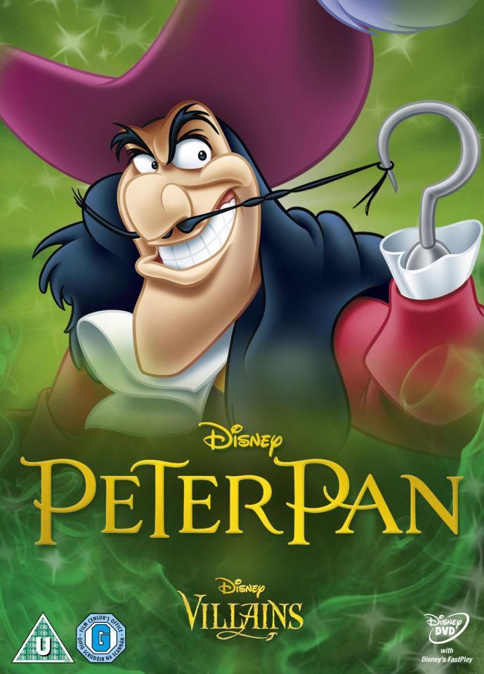 Peter Pan Disney Villains Limited Artwork Edition Dvd Zavvide