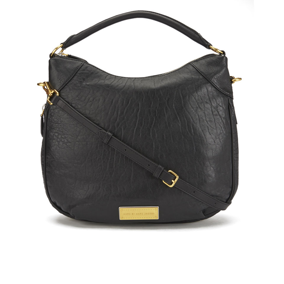 cf8f63fc36 Marc by Marc Jacobs Washed Up Billy Hobo Bag - Black Multi - Free UK ...
