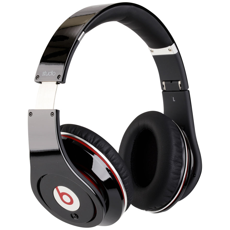 Beats by Dr. Dre: Studio Noise Cancelling HD Headphones with Microphone - Black Electronics ...