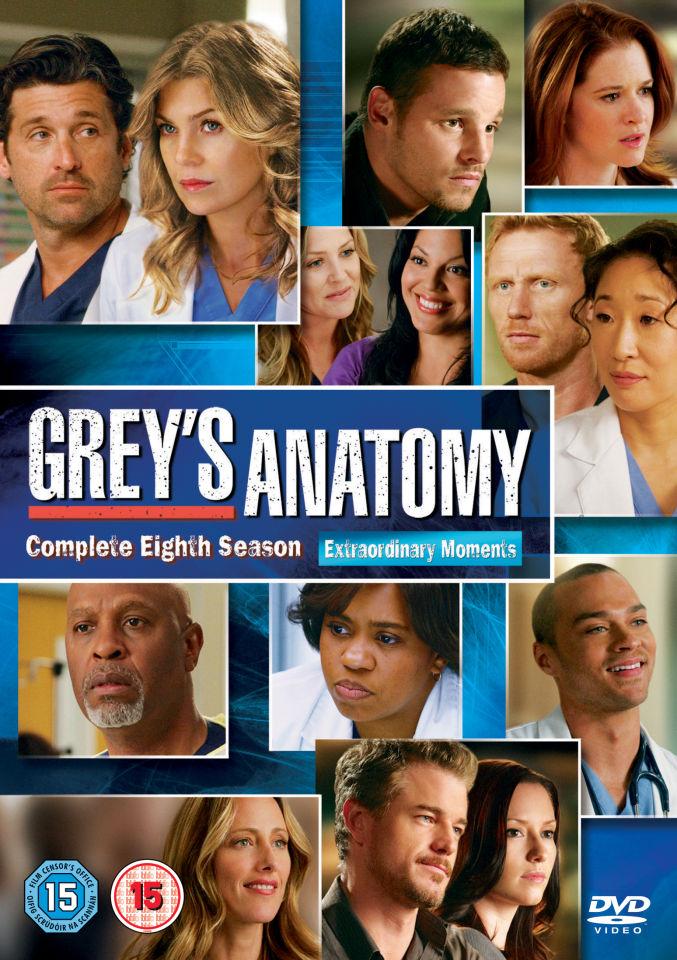 Greys Anatomy Season 8 Dvd Zavvi