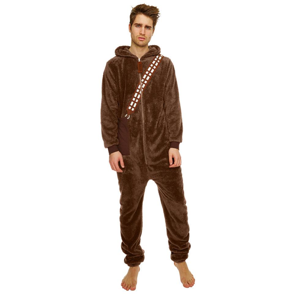 Deko komplettes schlafzimmer : Star Wars Chewbacca Fleece Jumpsuit - Brown : SOWIA
