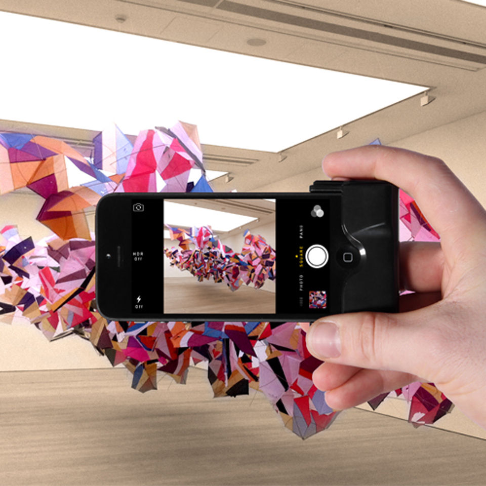 Camera Shutter for iPhone 5