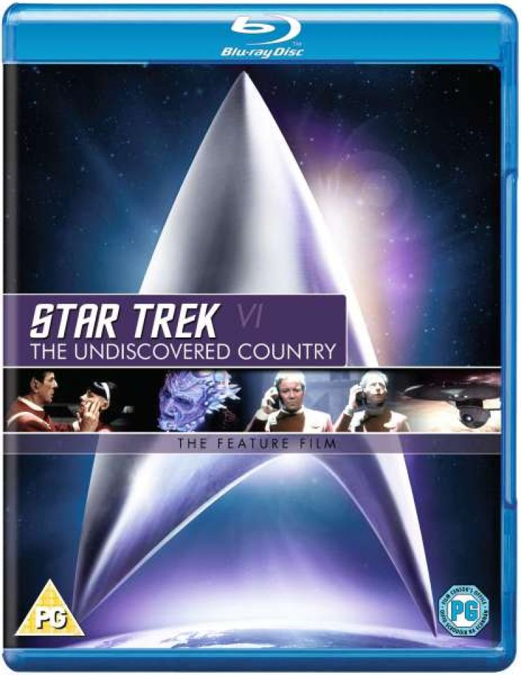 star trek the undiscovered country blu ray zavvi. Black Bedroom Furniture Sets. Home Design Ideas