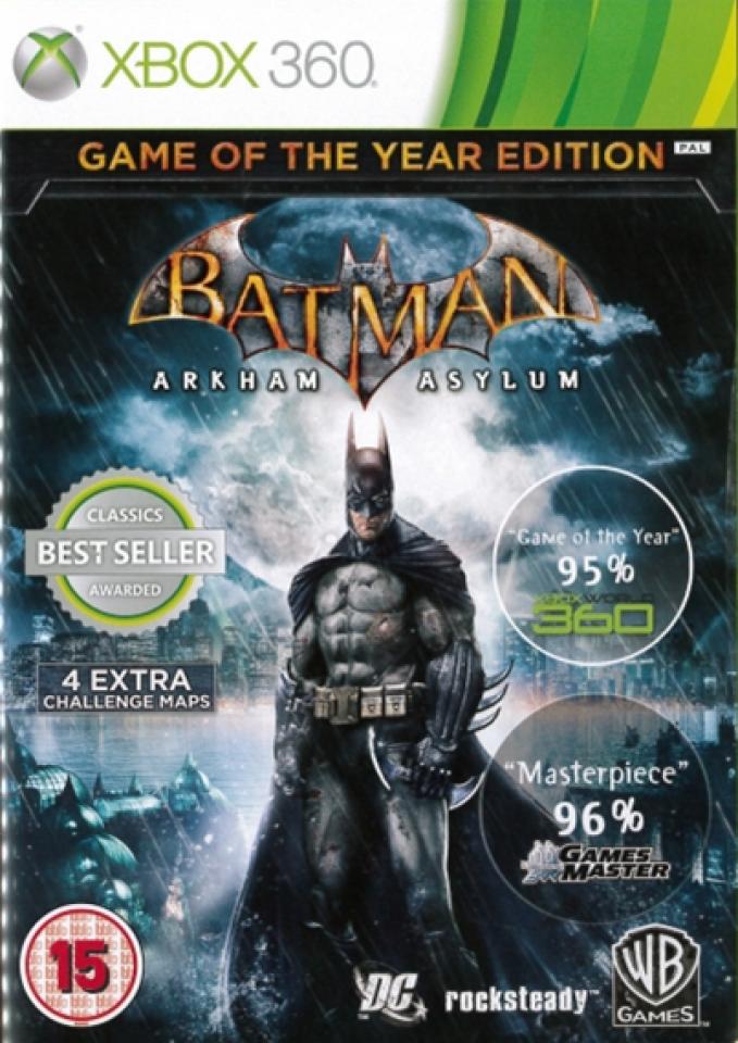 Batman Arkham Asylum Game of the Year Edition PC GAME FREE ...