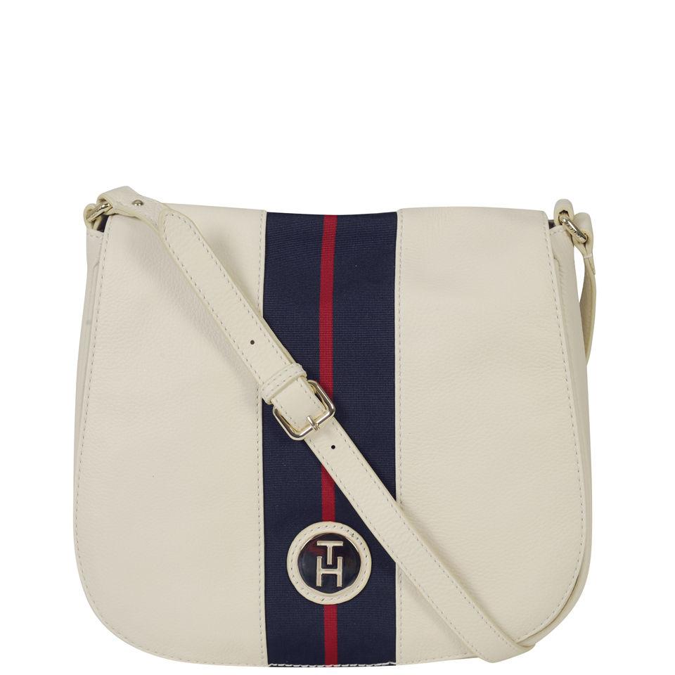 364d70329ba Tommy Hilfiger Women's Lizzie Cross Body Bag - Whisper White - Free ...