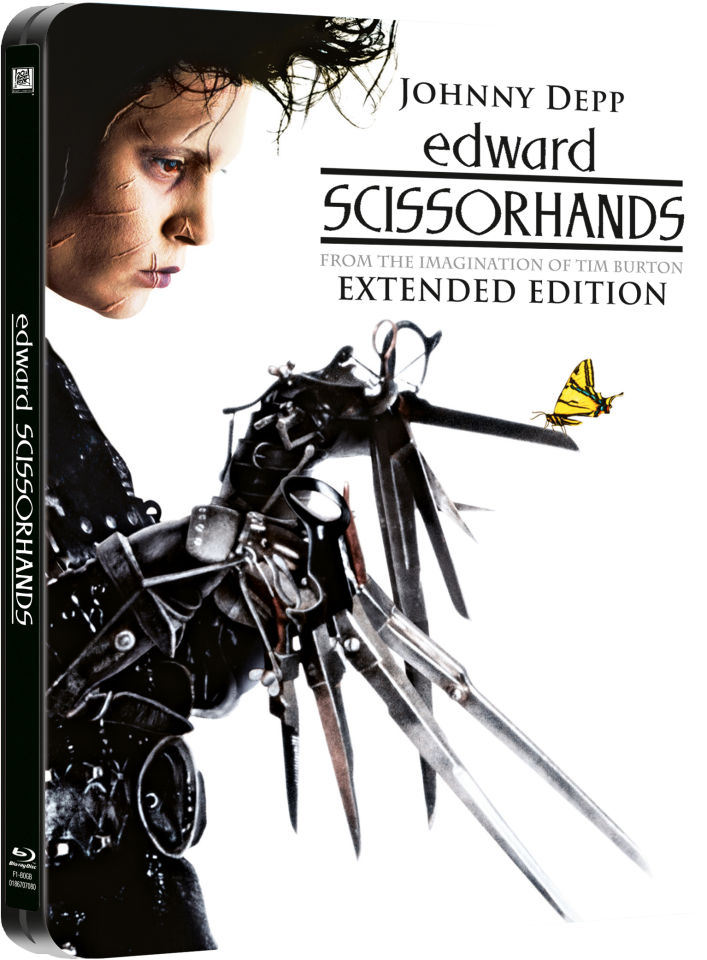 Edward Scissorhands - Limited Edition Steelbook (Includes DVD)