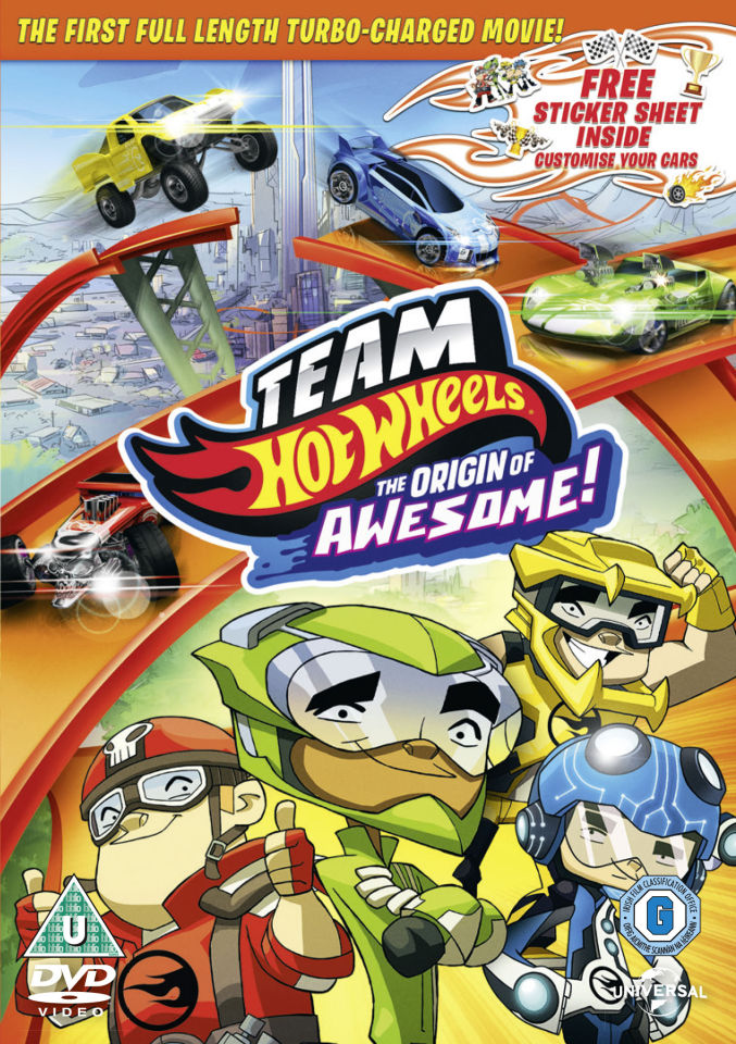 Team Hot Wheels: The Origin of Awesome (Includes Sticker Sheet)
