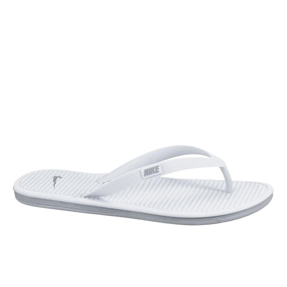 0940e925028f Nike Solarsoft Thong 2 Flip Flops - White Sports   Leisure