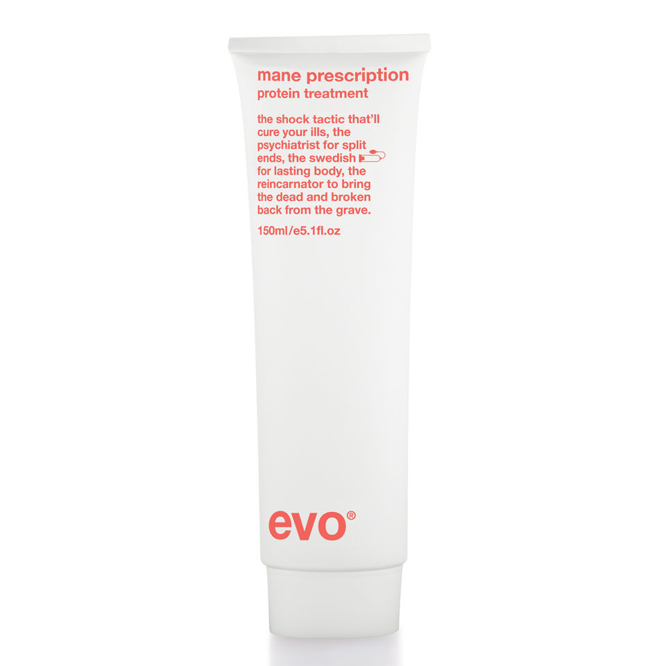Evo Mane Prescription Protein Treatment (150ml) | Free Shipping |  Lookfantastic