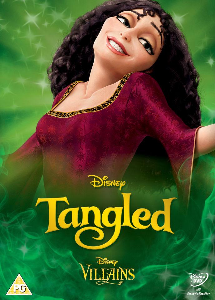 Red And Black Book >> Tangled - Disney Villains Limited Artwork Edition DVD   Zavvi