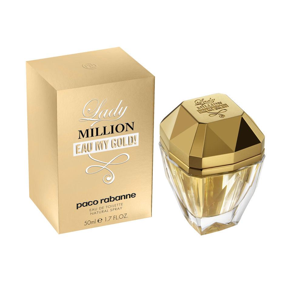 Lady De Million Eau My Toilette50ml Gold GqzpLVSUM