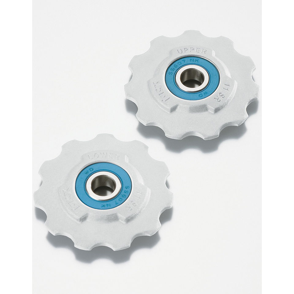 Tacx Ceramic Bearing T4095 Bicycle Jockey Wheels - SRAM