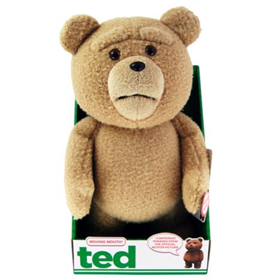 Ted 16 Inch Talking Plush With Moving Mouth Merchandise