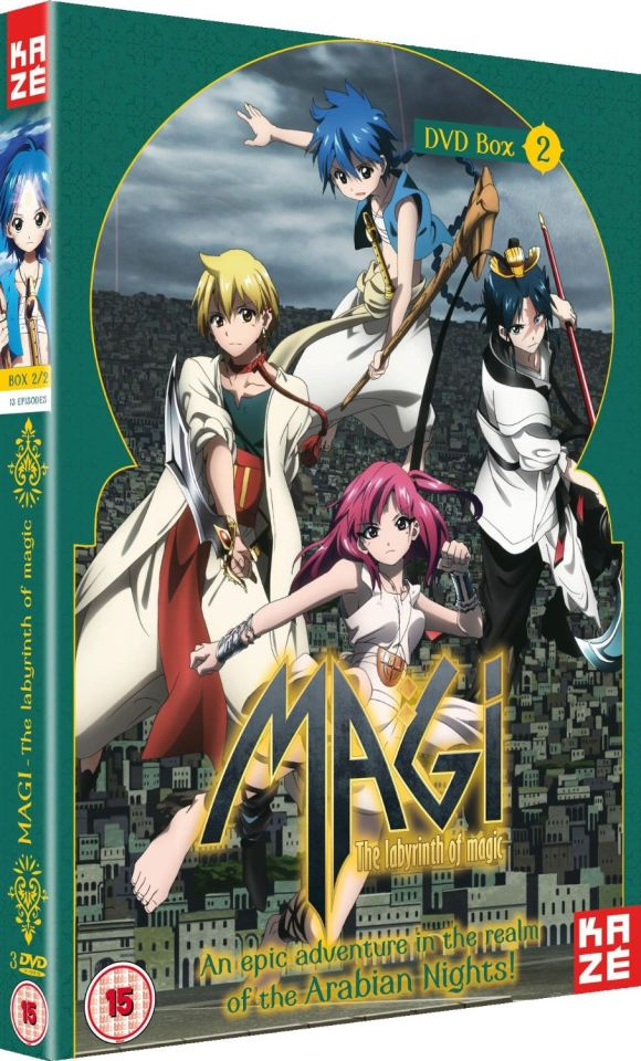 Magi The Labyrinth of Magic - Season 1: Part 2