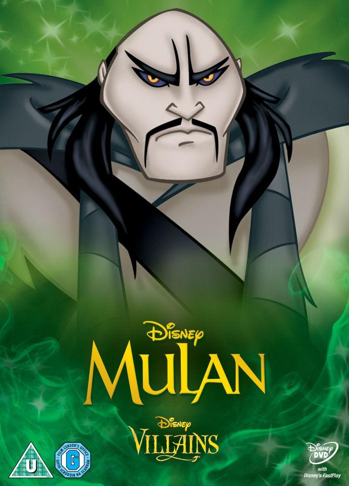 Mulan Disney Villains Limited Artwork Edition Dvd Zavvi