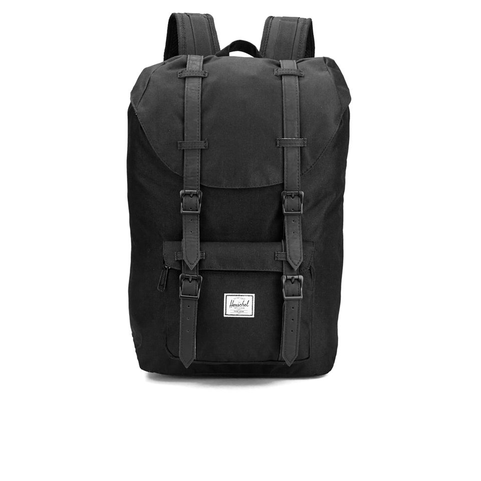 b75060a50e Herschel Supply Co. Classic Little America Mid Volume Backpack - Black -  Free UK Delivery over £50