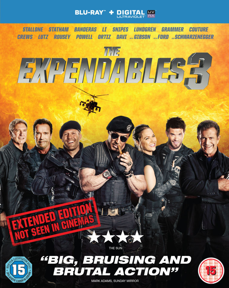 The Expendables 3 (Includes UltraViolet Copy)