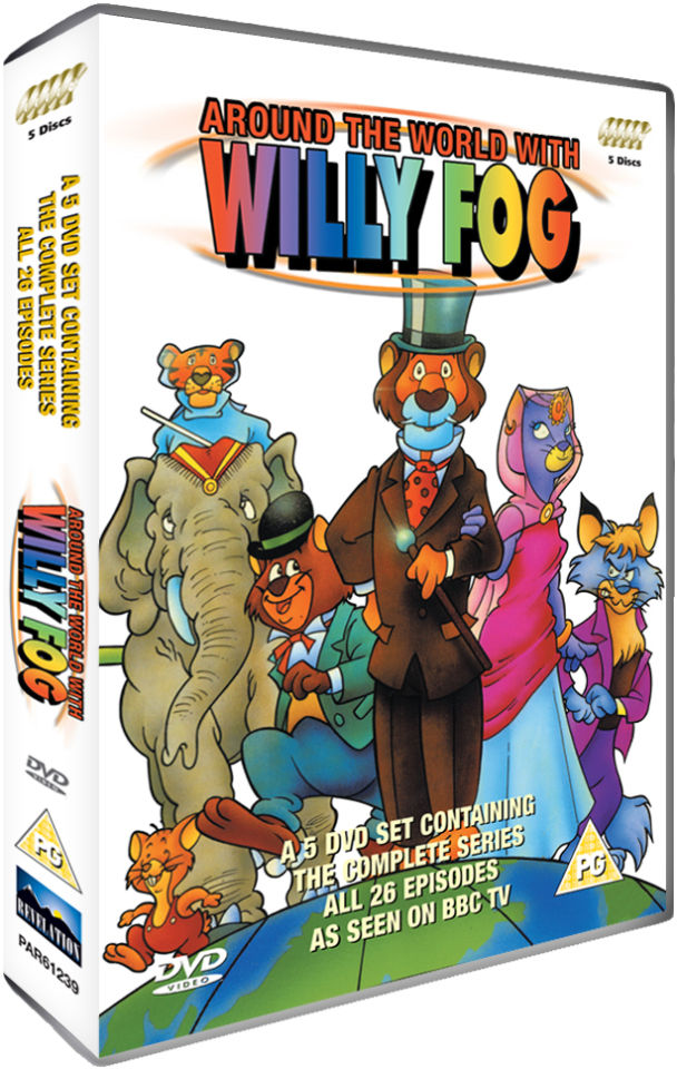 Around The World With Willy Fog - The Complete Series