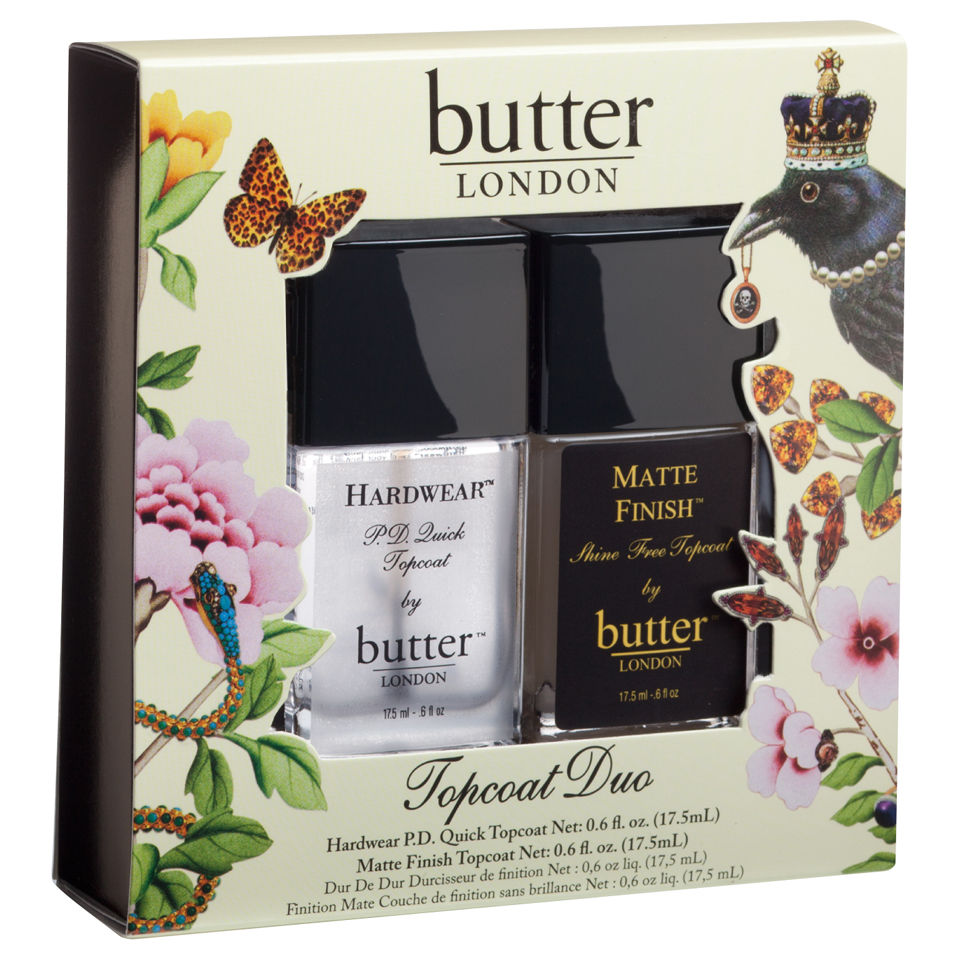 butter LONDON Top Coat Duo (2 Products)