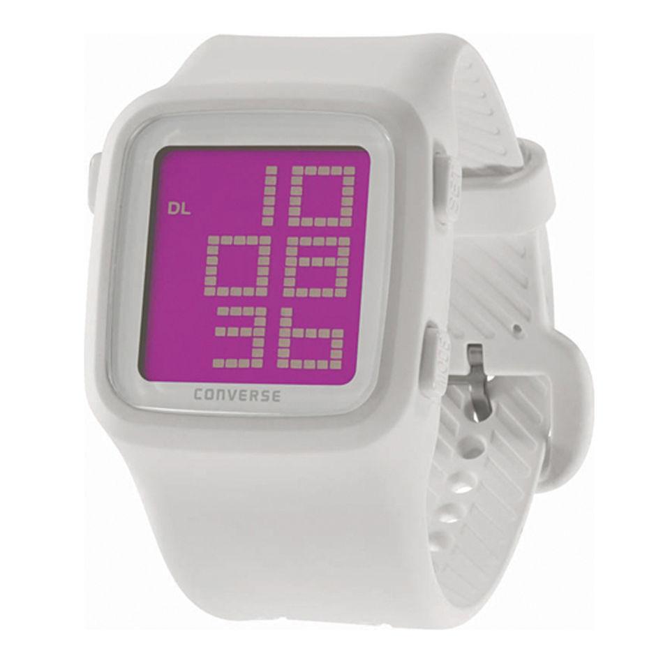 b0bcb62575344a Converse Timing Scoreboard Watch - White