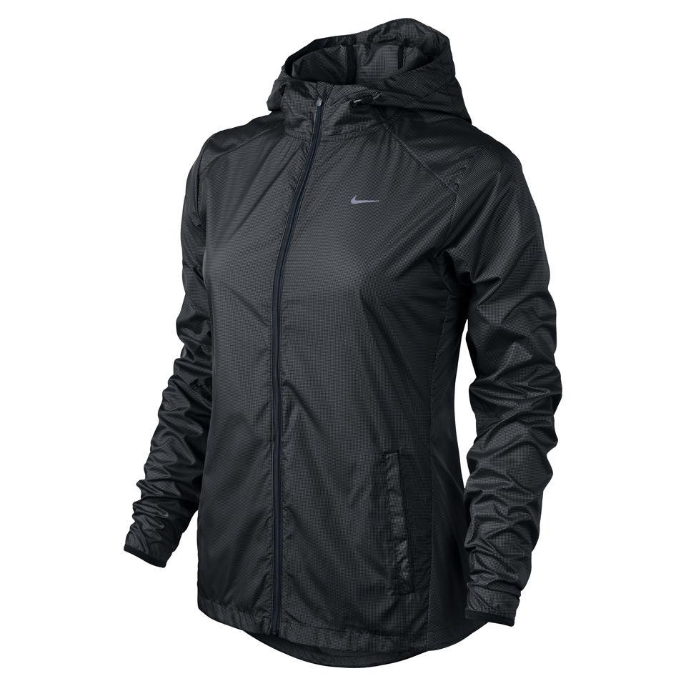 Nike Women's Racer Woven Running Jacket Black