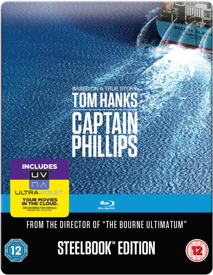 Captain Phillips: Mastered in 4K Edition - Steelbook Edition (Includes UltraViolet Copy)