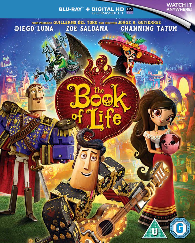 The Book Of Life Blu Ray Zavvi