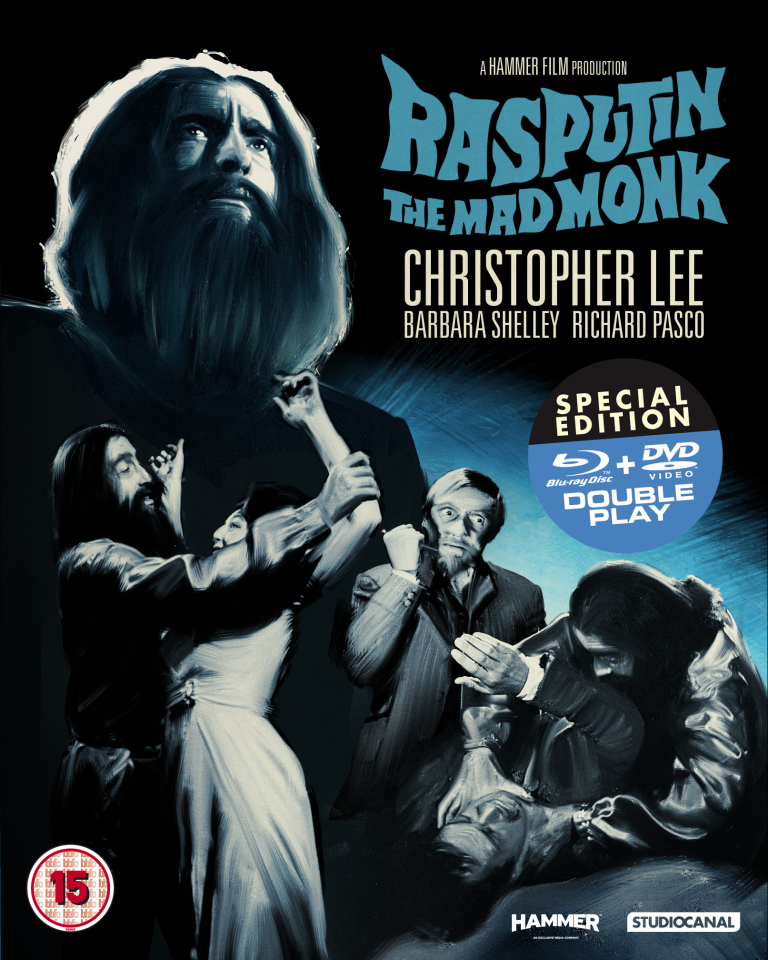 Rasputin: The Mad Monk - Double Play (Blu-Ray and DVD)