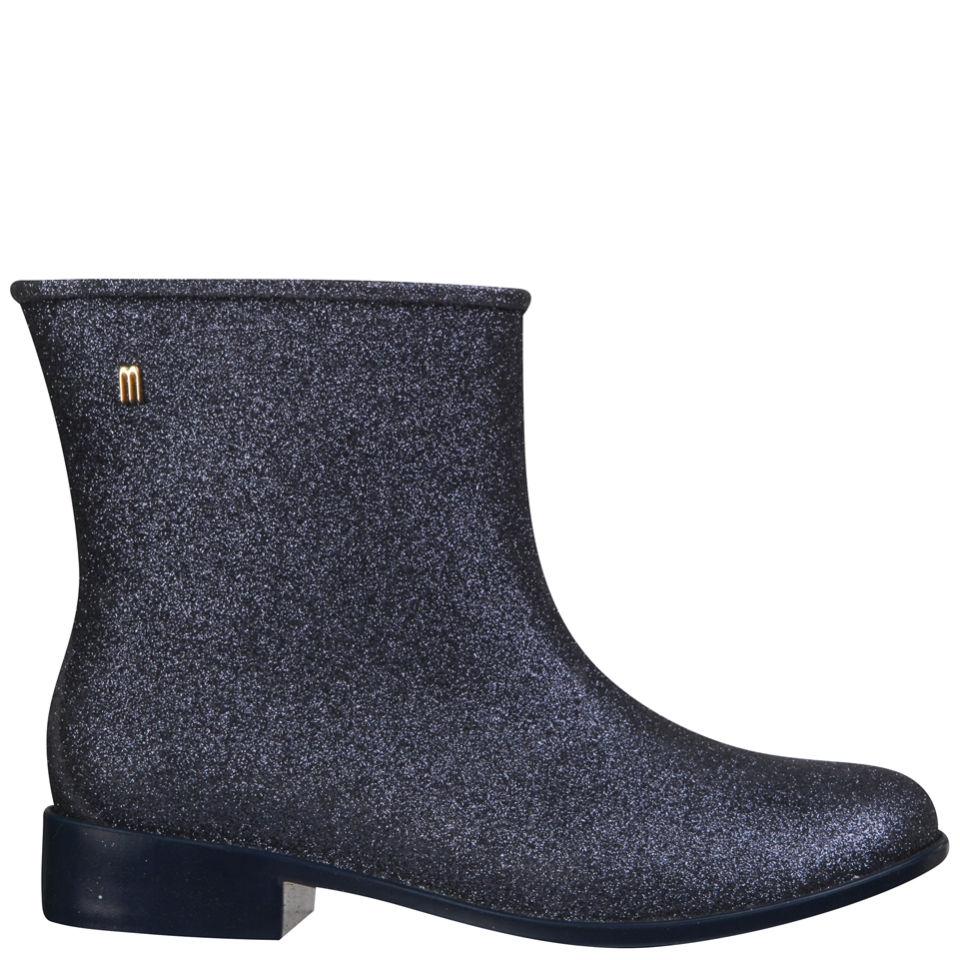 36fcb50fbe Melissa Women's Moon Dust Ankle Boots - Midnight Glitter