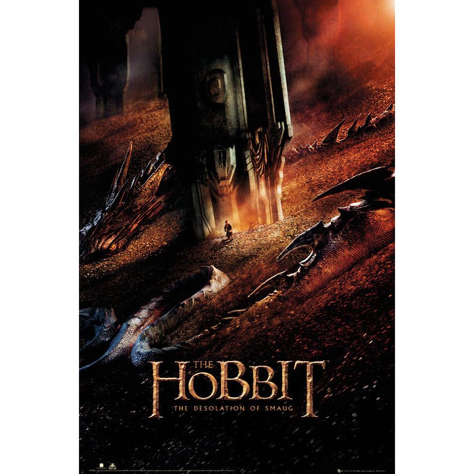 The Hobbit Desolation of Smaug Dragon - Maxi Poster - 61 x 91.5cm