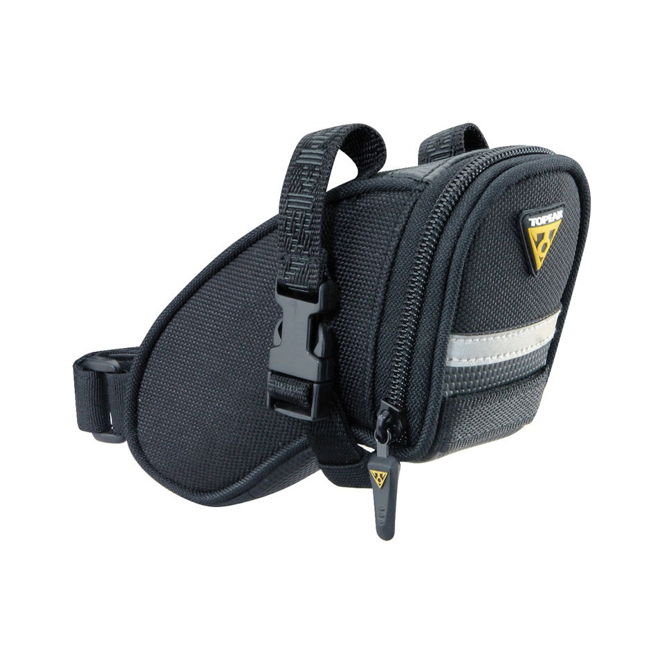 Topeak Wedge Aero Saddlebag With Strap - Mini
