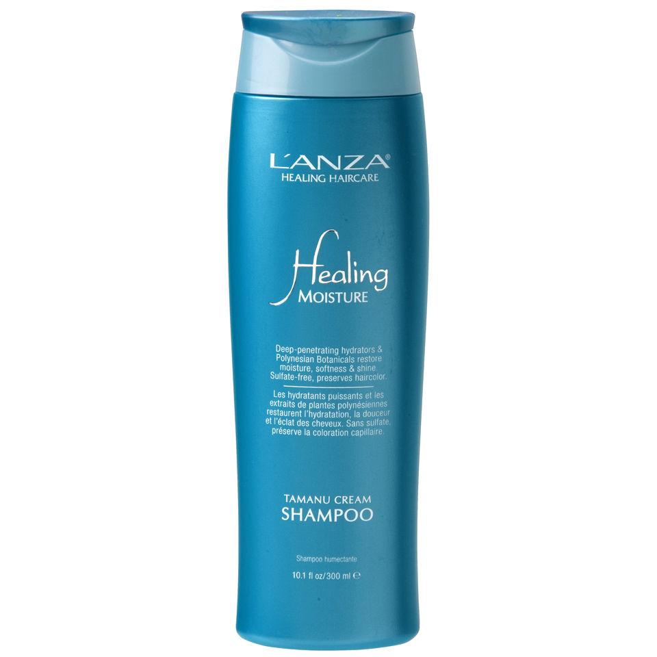 L Anza Healing Moisture Tamanu Cream Shampoo 300ml
