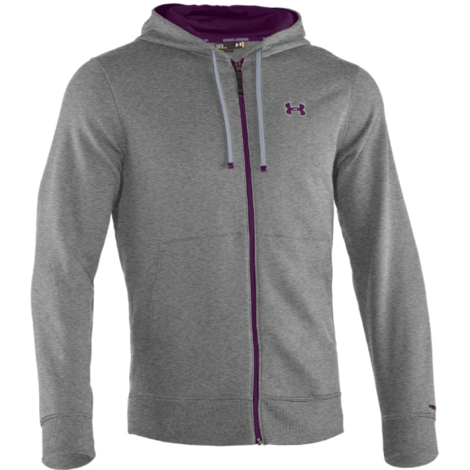 ff5070581 Under Armour Men's Charged Cotton Storm Transit Full Zip Hoody - True Grey /Heather/Echo