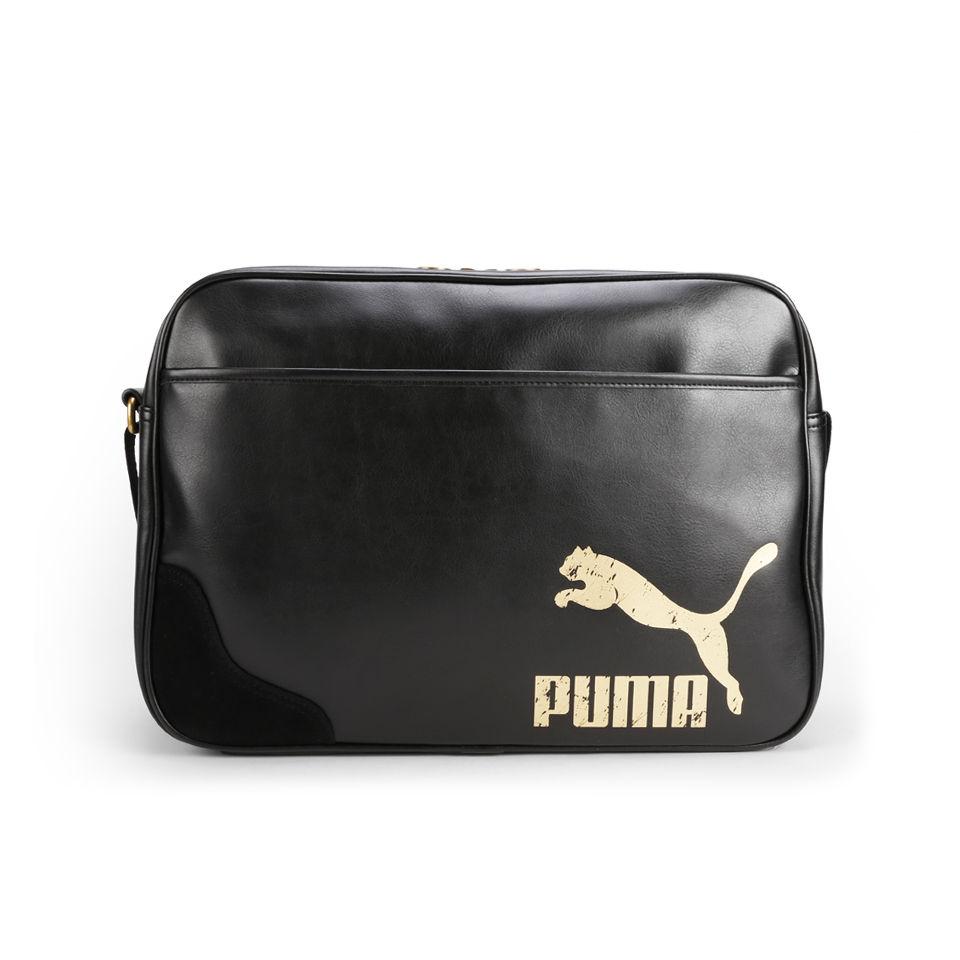 72573769e8 Puma Originals Reporter Bag - Black Puma Originals Reporter Bag - Black