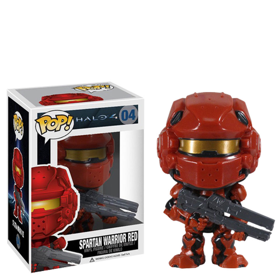 Halo 4 Red Spartan Pop! Vinyl