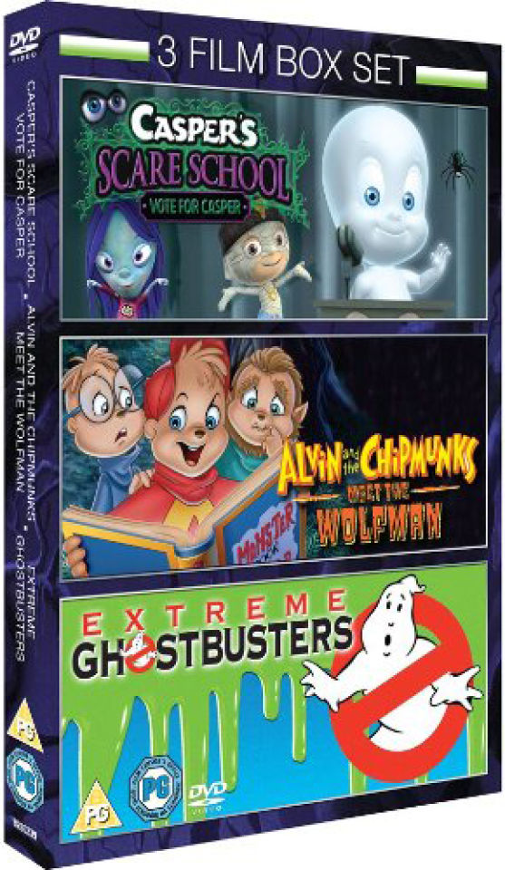 Casper Scare School / Alvin & the Chipmunks meet the Wolfman / Extreme Ghostbusters Vol 1