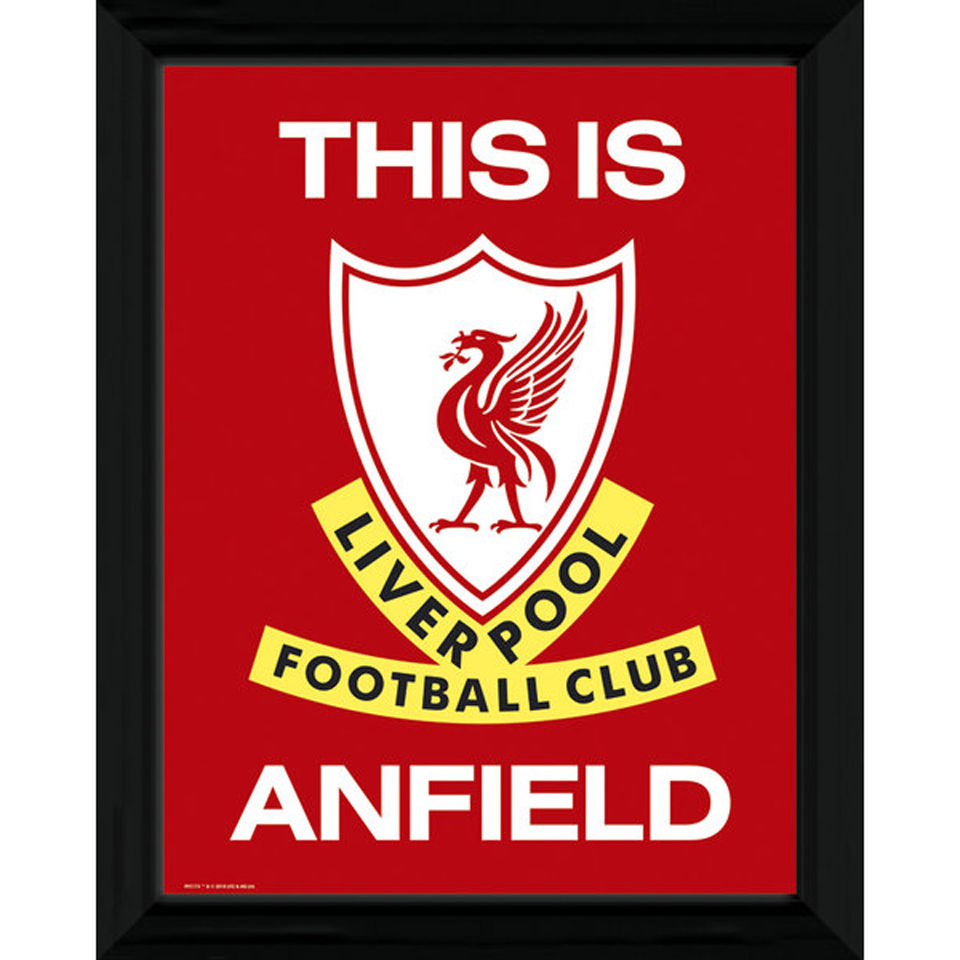 "Liverpool This Is Anfield - 16"""" x 12"""" Framed Photographic"