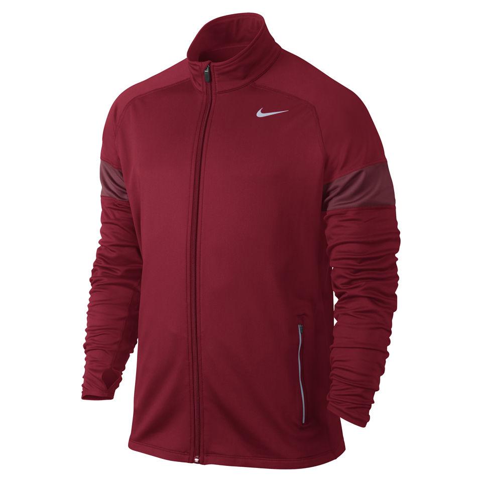 76624f905fee Nike Men s Element Thermal Full Zip Running Jacket - Gym Red ...