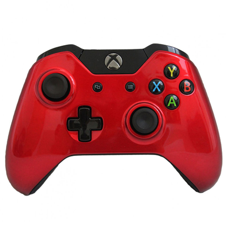 Xbox One Wireless Custom Controller - Gloss Red Games